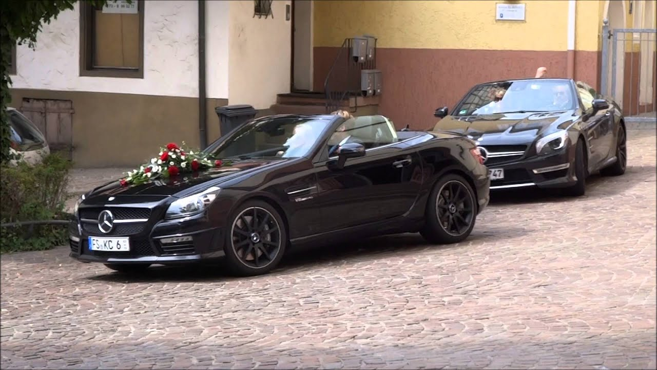 Mercedes Benz Sl 63 Amg Amp Slk 55 Amg Wedding Cars Driving