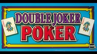 Double Joker Poker Video Poker Machine