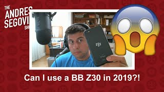 Switching to a BlackBerry Z30 in 2019!