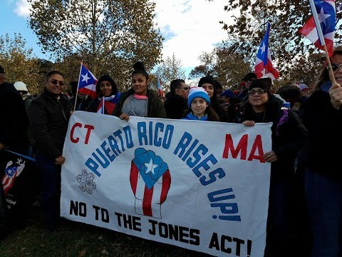 "Puerto Ricans Say ""NO"" to the Jones Act and Crushing Bank Debt"