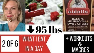 What I Eat in a Day | Keto Weight Loss | Macros