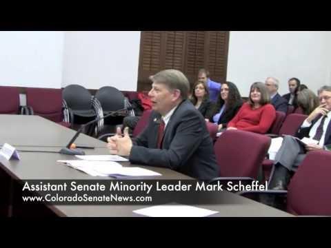 Assistant Senate Minority Leader Mark Scheffel   SB13-052
