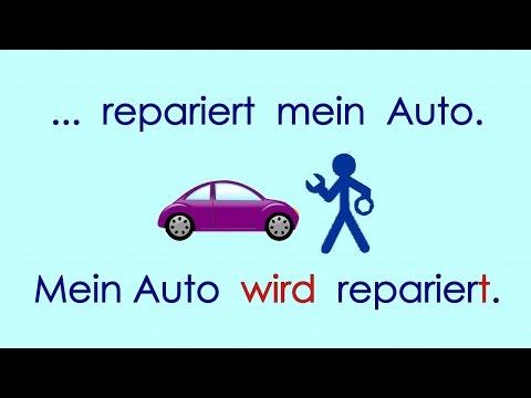 Deutsch lernen Grammatik 18: ich werde ... (Passiv)