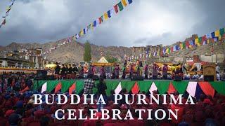 Buddha Purnima Celebration    Leh Ladakh    Cultural Program    School students