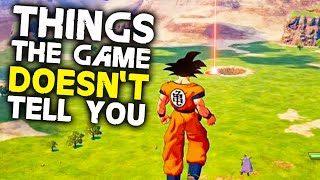 Dragon Ball Z: Kakarot - 10 Things The Game Doesn