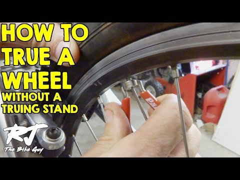 How To True A Bike Wheel Without A Truing Stand