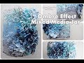 Beginners Ombre Effect Mixed Media Altered Jar Tutorial ♡ Maremi's Small Art ♡