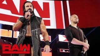 Baron Corbin and Drew McIntyre interrupt Kurt Angle's emotional address: Raw, Feb. 4, 2019