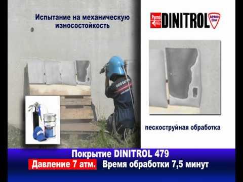 Антикоррозийная обработка авто уникальным покрытием DINITROL 479 .