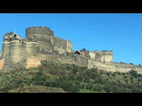 Syria Ancient Sites: Al Marqab Castle