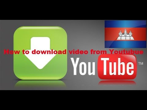 HOw to dowload video from Youtube