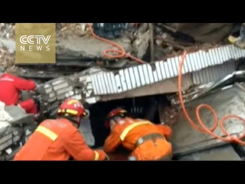 East China landslide: More than two dozen still missing