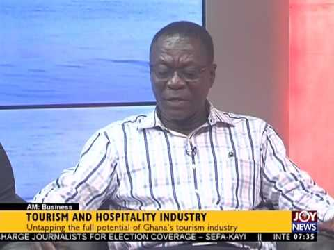 Tourism and Hospitality Industry - AM Business on Joy News  (23-11-16)