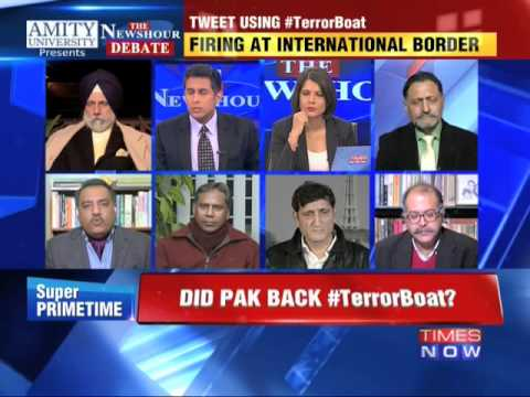 The Newshour Debate: Did Pakistan Back Terror Boat? - Part 1