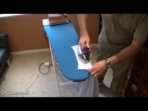Ironing a Traditional Double Cuffed Shirt - DrClean