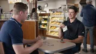 TV Commercial Outtakes | NHL Upper Deck Trading Cards feat. Sidney Crosby & Nathan MacKinnon