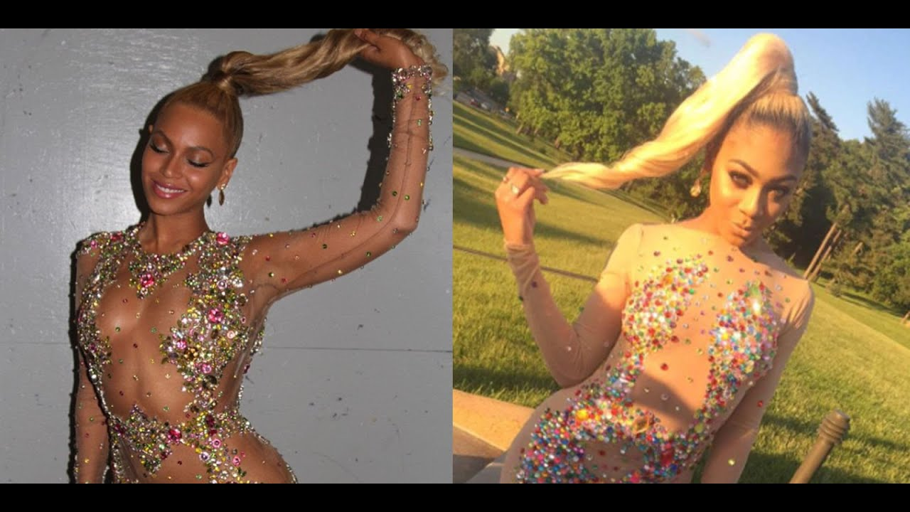St. Louis student goes viral with Beyonce inspired prom dress ...