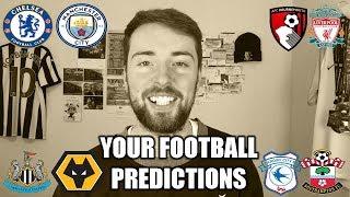 YOUR FOOTBALL PREDICTIONS #GW16
