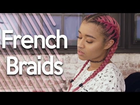Simple Easy Tutorial On French Braiding Hair