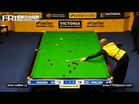John Higgins vs Pinches ~ 2012- Bulgarian Open (EPTC4)