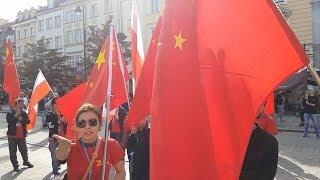 Chińczycy zaatakowali Polaków w Warszawie!/Chinese attacked Poles in Warsaw!