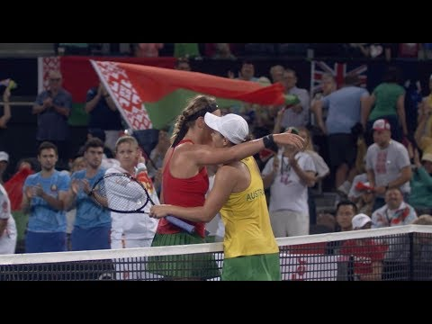 Barty draws Australia level on day one | Fed Cup 2019