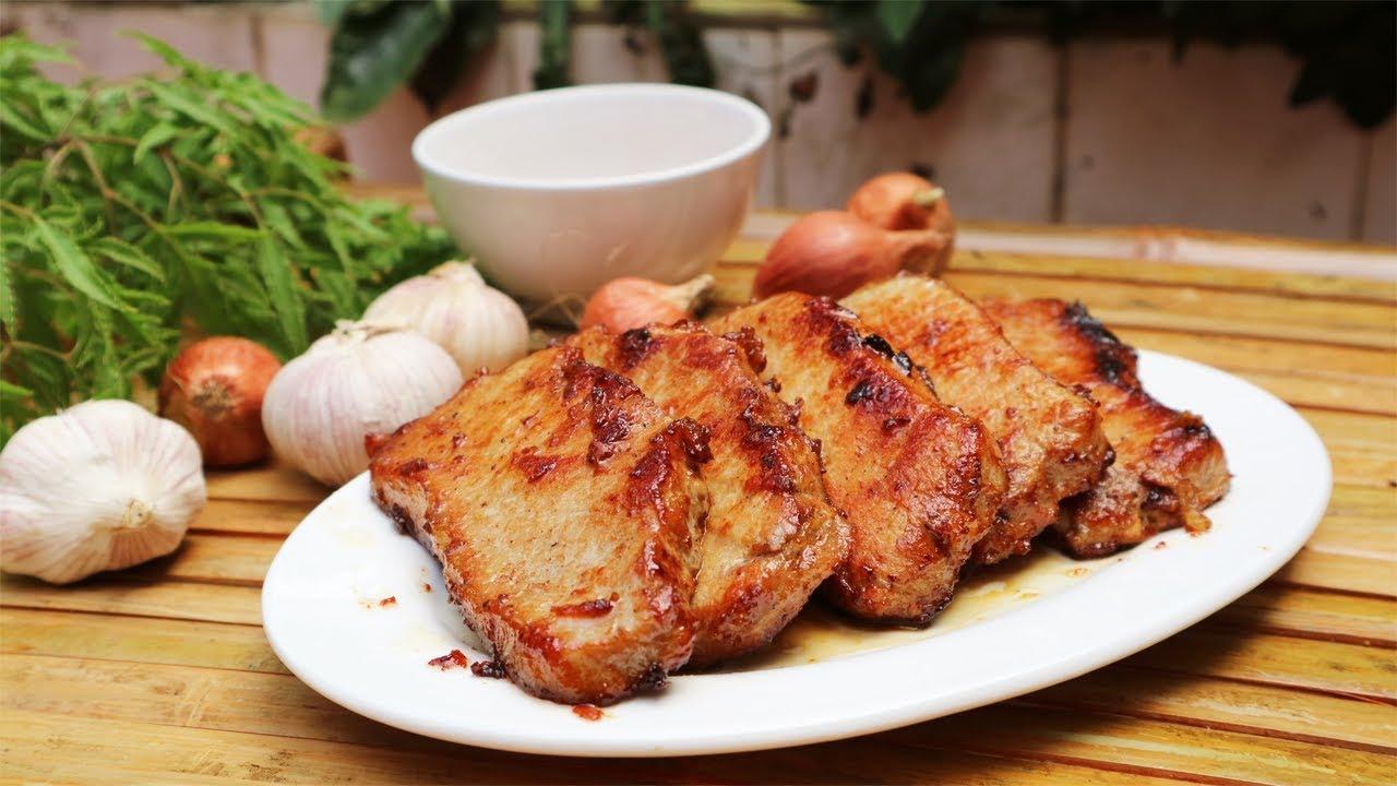 Thịt heo Áp Chảo Thơm Nức Mũi - Pork Fried