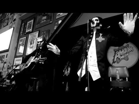 Ghost B.C. - Ghuleh / Zombie Queen - Live Acoustic Set @ Amoeba Music in Hollywood, CA