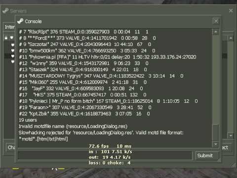 Valve id в кс 1.6