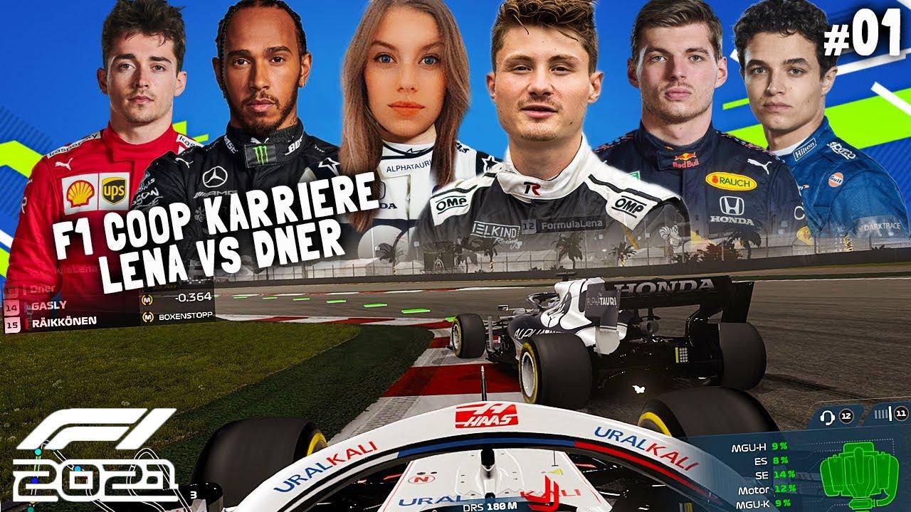 Download LENA vs DNER | F1 2021 Coop Karriere #01