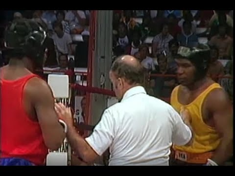 Mike Tyson 16 Year Old Bombs Winston Bent in Amateur Boxing Finals
