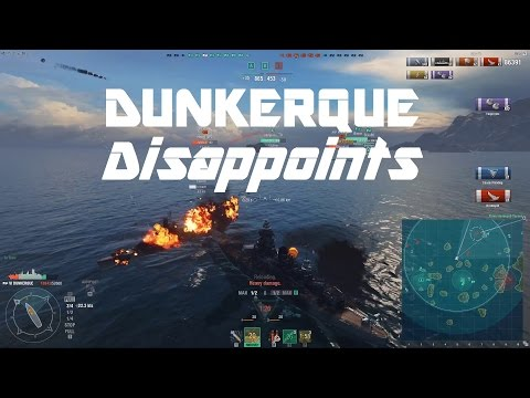 T6 French Premium: Battleship Dunkerque Disappoints