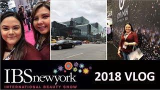 INTERNATIONAL BEAUTY SHOW NEW YORK 2018   IBS NY VLOG