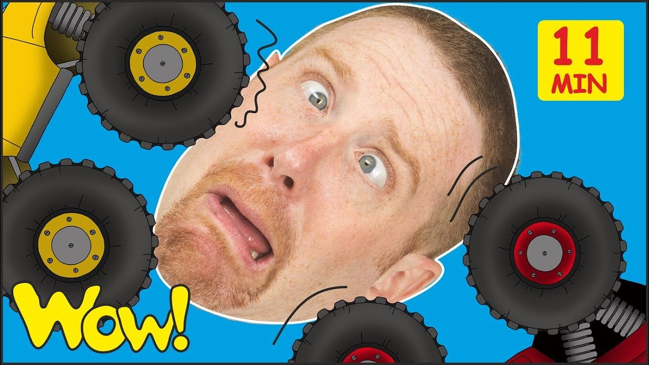 0e5bd7cd Toy Cars for Kids from Steve and Maggie + MORE Stories and Lessons | Free  Speaking Wow English TV