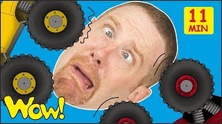 Toy Cars for Kids from Steve and Maggie + MORE Stories and Lessons | Free Speaking Wow English TV