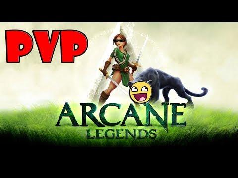PVP BUILD FOR ROGUE!? ~ARCANE LEGENDS