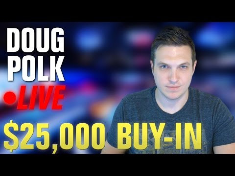 LIVE $25,000 Buy-In High Roller Poker Tournament!