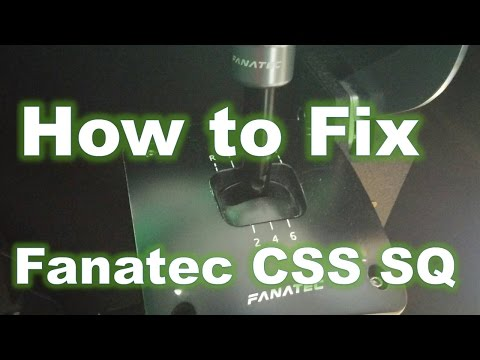 How to fix sequential mode - Fanatec Clubsport Shifter SQ