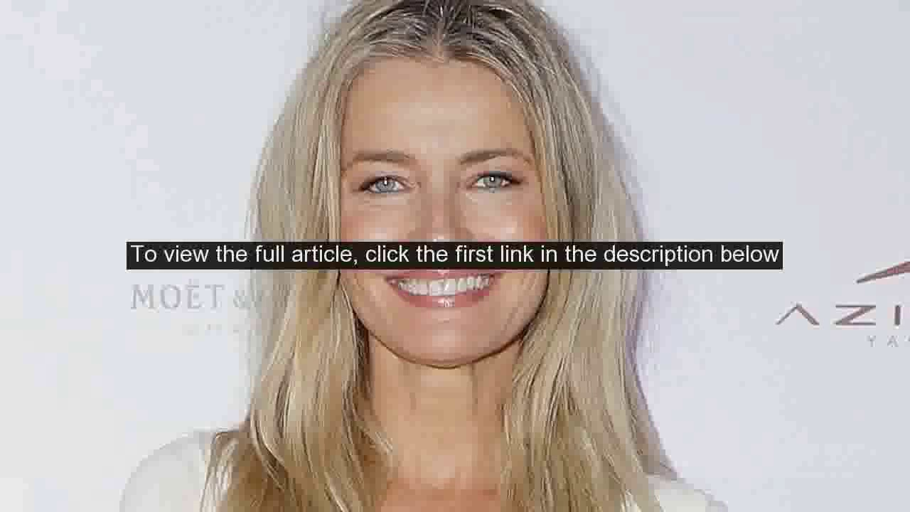 Paulina Porizkova reacts to criticism for posing in lingerie in her 50s ...