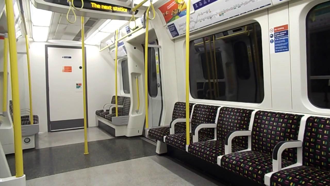 Circle Line   S7 Stock Interior (07 05 2017)
