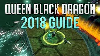 Runescape 3 - Queen Black Dragon guide 2018 | Brandishing RCB + Boss