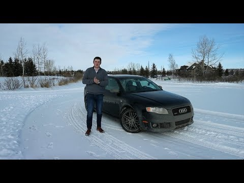 Here's Why The 2008 Audi RS4 Is the last GREAT Sport Sedan - Review