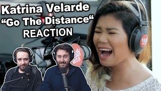 """Katrina Velarde - Go The Distance"" Reaction"