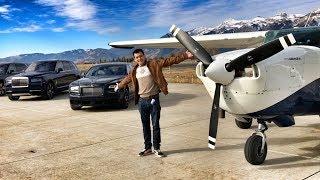Взлетаем На Частном Самолете От Rolls-Royce!) Красоты Штата Вайоминг С Высоты.