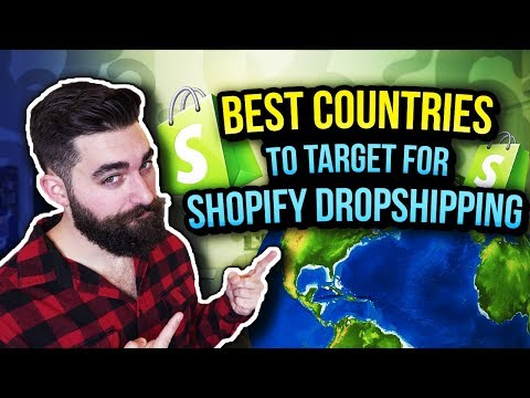 BEST Countries To Target For Shopify Dropshipping In 2019 thumbnail
