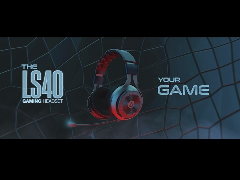LS40 7.1 Surround Wireless Universal Gaming Headset