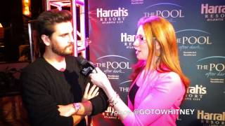 "Atlantic City EXCLUSIVE - Scott Disick on London ""They can suck my F***** D*** & My Balls"""
