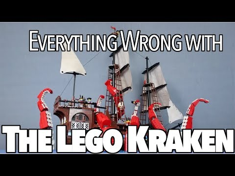 Everything Wrong With The Lego Kraken In 3 Minutes Or Less