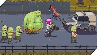 ДАВИМ ЗОМБИ СКУТЕРОМ - Игра Dead Ahead. Игры на андроид.