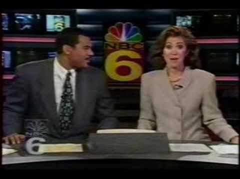 WCIX WFOR WTVJ Miami Channel Switch 1995 - YouTube